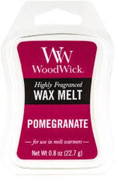 Cialda per bruciatori Woodwick WAX Melt POMEGRANATE