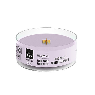 Candela Petite Woodwick WILD VIOLET