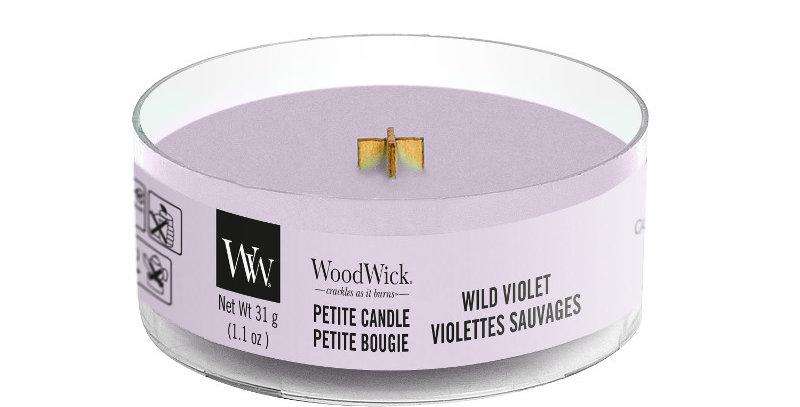 Candela Petite Woodwick WILD VIOLET