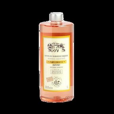 Sapone di Marsiglia Liquido Ricarica 1Lt al Pompelmo