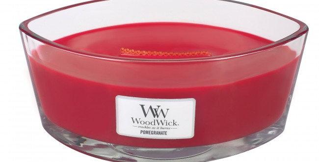 Candela Woodwick Ellipse POMEGRANATE