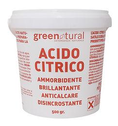 ACIDO CITRICO 0,5 KG