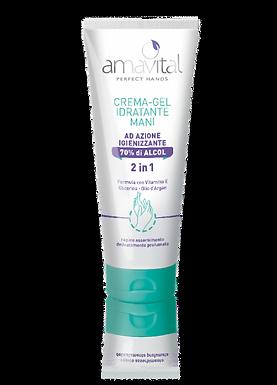 Crema gel – Idratante mani AD AZIONE IGIENIZZANTE