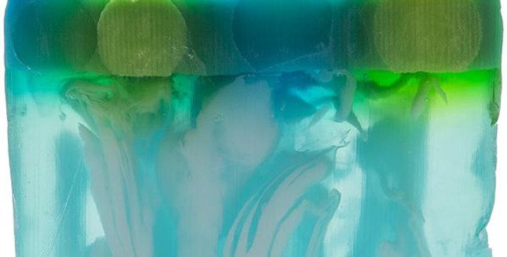 BOMB COSMETICS  Saponetta Naturale Fatta a Mano Planet Peppermint