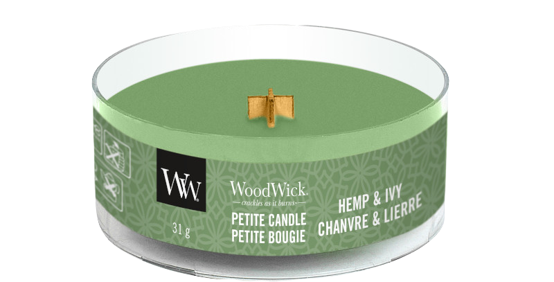 Candela Woodwick Petite HEMP AND IVY