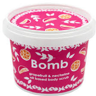 Bomb Cosmetics Oil Scrub Grapefruit & Nectarine 365ml
