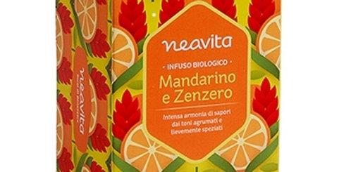 Infuso Mandarino Zenzero Bio Filtro e Scrigno Neavita
