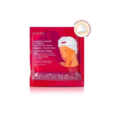 Maschera Capelli In Tessuto Effetto Termo-Vapore - Protettiva E Ravviva Colore N