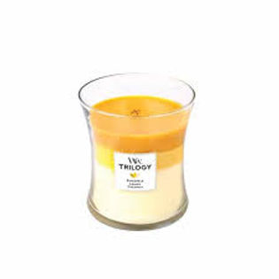 WOODWICK Candela Medium TRILOGY FRUITS OF SUMMER