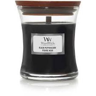 Candela Woodwick Small BLACK PEPPERCORN