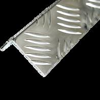 алюминиевый рифленый угол квинтет