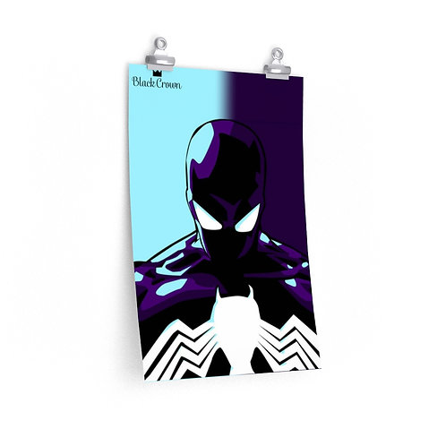 Symbiote Spiderman Print