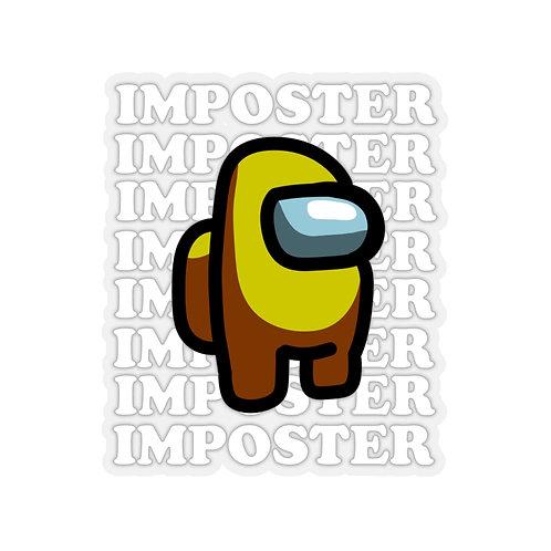 Yellow Imposter Sticker