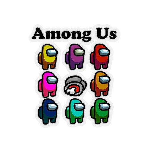 Amoung Us Sticker