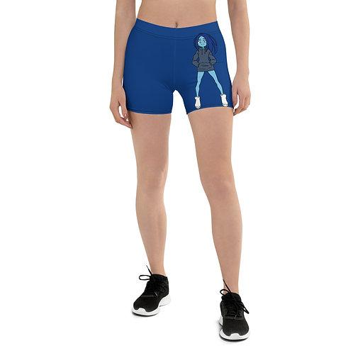 Inky Yoga Shorts