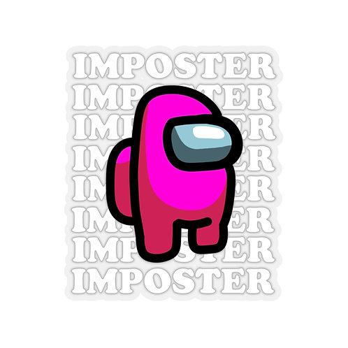 Pink Imposter Sticker