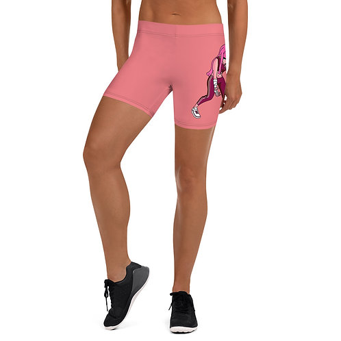Pinky Yoga Shorts