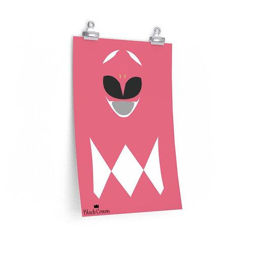Pink Ranger Print