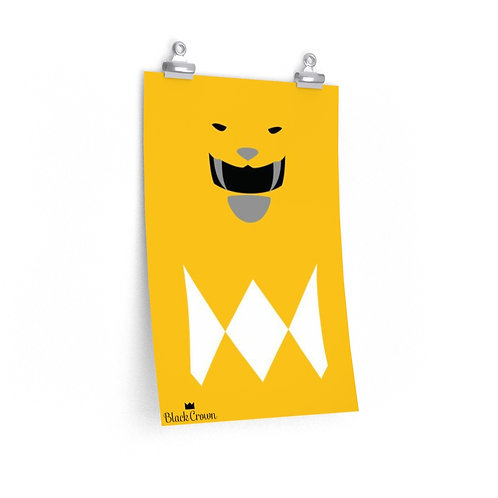 Yellow Ranger Print