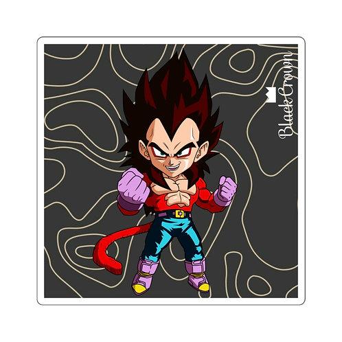 Super Saiyan 4 Vegeta Sticker