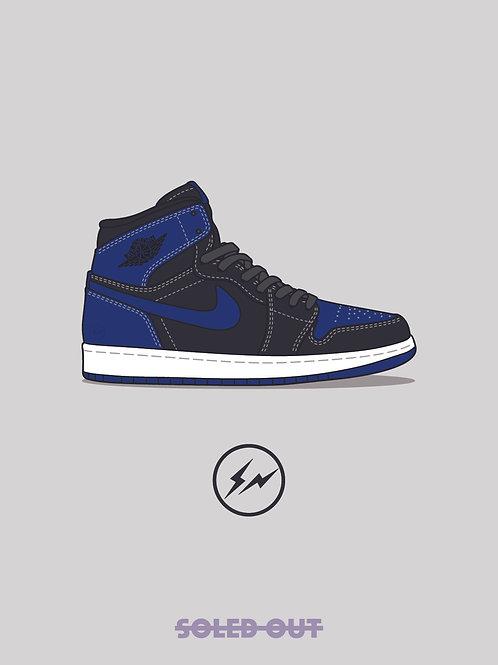 Air Jordan 1 Fragment Poster