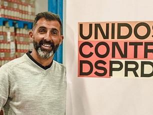 O futebolista Ricardo associa-se ao movimento Unidos contra o desperdício