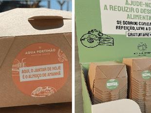 """Espaço Guimarães combate desperdício alimentar e entrega """"sobras aos clientes"""""""