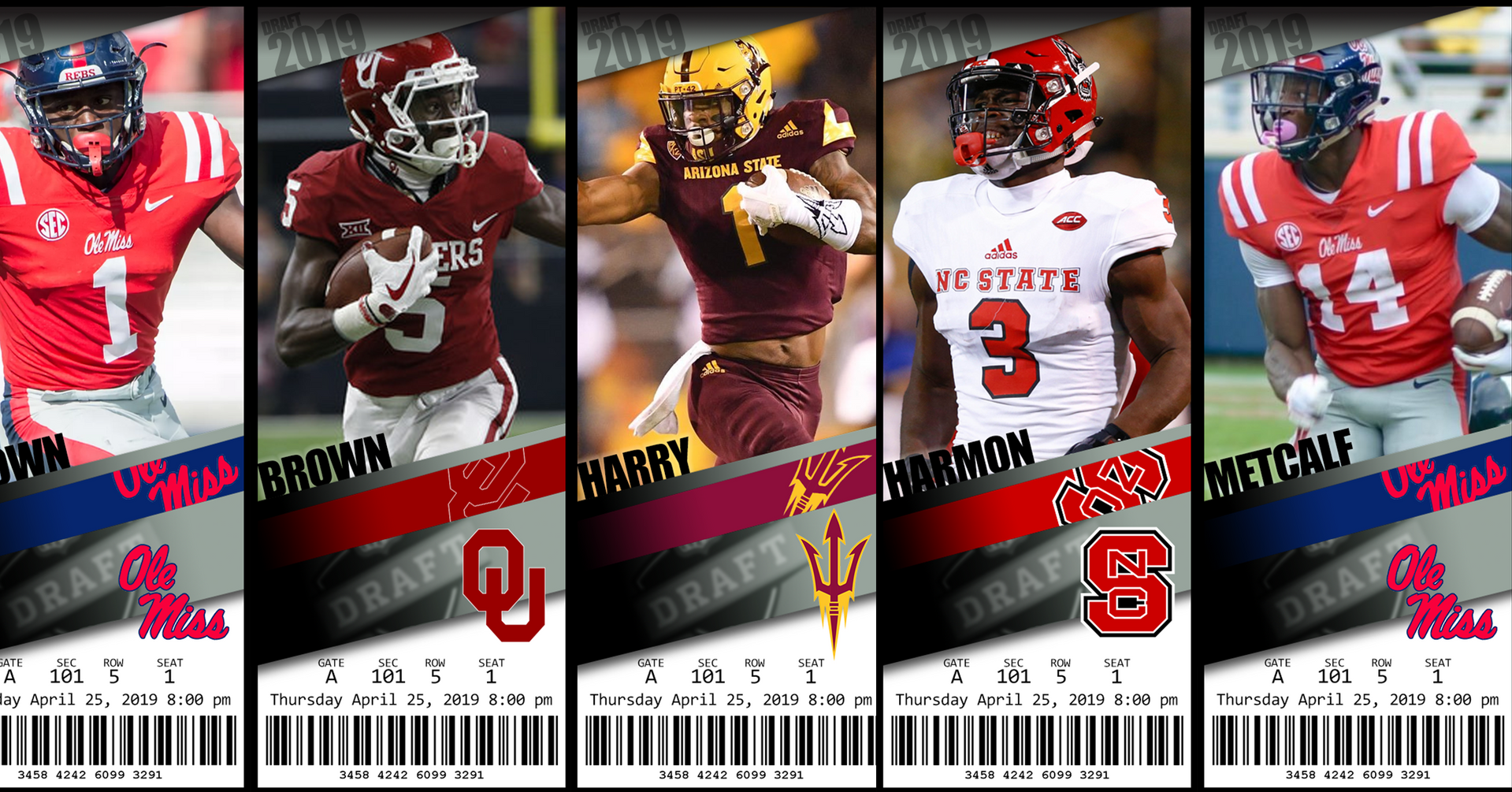 2019 NFL Draft Prospects: Receiver Rankings