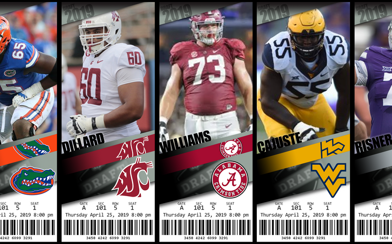 2019 Top 5 Offensive Tackle Prospects