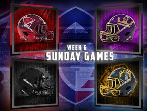 AAF Week 6 Sunday Game Previews