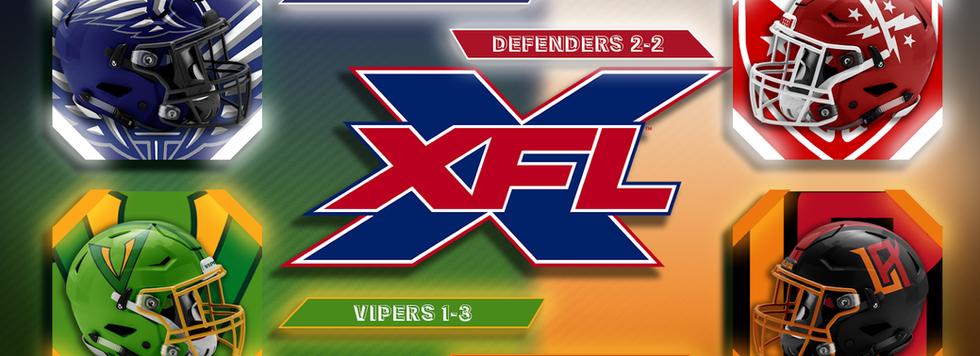 XFL Week 5 Sunday Game Previews
