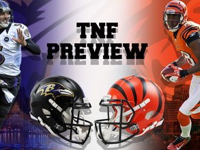 Baltimore Ravens (1-0) Vs. Cincinnati Bengals (1-0)