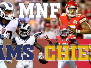 Kansas City Chiefs (9-1) vs. Los Angeles Rams (9-1)