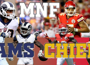 Kansas City Chiefs (9-1) vs. Los Angeles Rams (9-1)