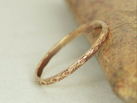Top 10+ Boho Chic Etsy Wedding Bands