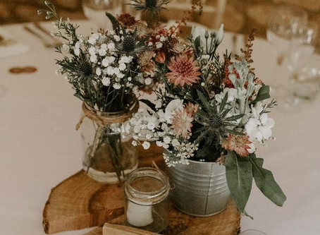 Top 10 Wedding Table Decorations in Blush Pink and Green in 2020