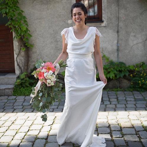 Paros Silk Based Wedding Dress I Boho Chic Europe