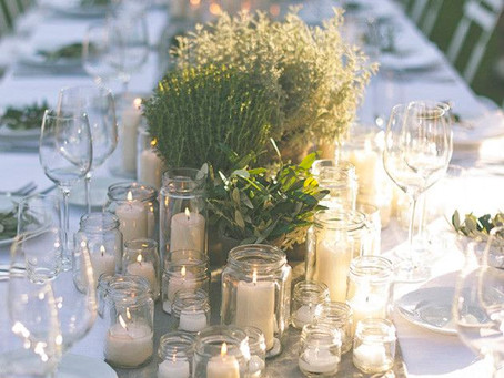The Simplest, Prettiest, Budget Friendly Wedding Table Decorations