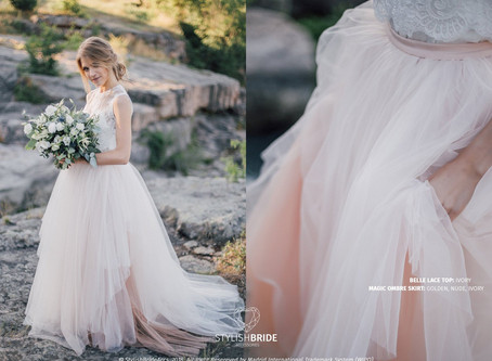 Top 10 Blush Wedding Dresses Under $500 in 2020