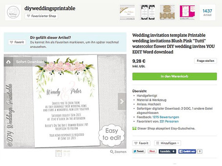 Creating Your Own Beautiful $10 Save The Date Cards to Email