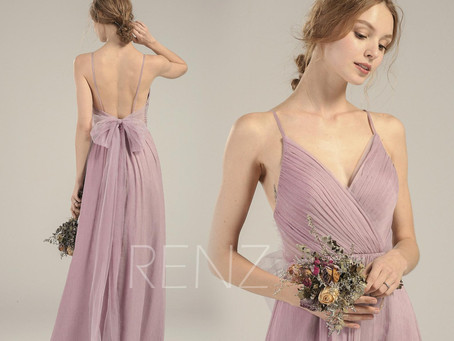 12 Most Wonderful Lilac Bridesmaid Dresses that Your Bridesmaids Will Say Yes To!