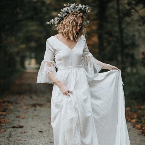 Serifos Silk Based Wedding Dress I Boho Chic Europe