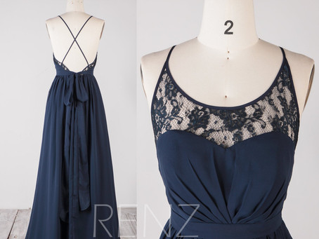 10+ Most Beautiful Navy Blue Bridesmaid Dresses That Will Have Your Bridesmaids Falling in Love!