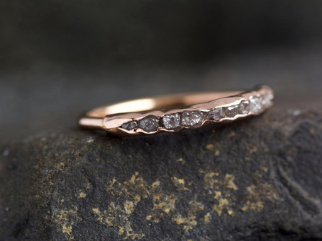 25 Etsy Wedding Bands that are Earthy and Organic for the Wild Bride