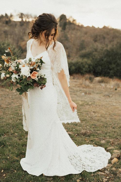 Kythira Silk Based Wedding Dress I Boho Alternative Europe