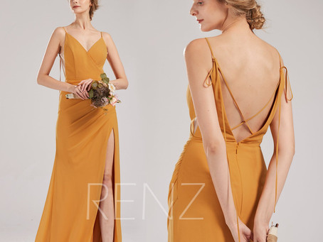 10+ Mustard Yellow Bridesmaid Dresses For a Vintage Inspired Wedding