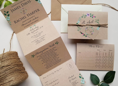 Top 10 Etsy Rustic Wedding Invitations in 2020