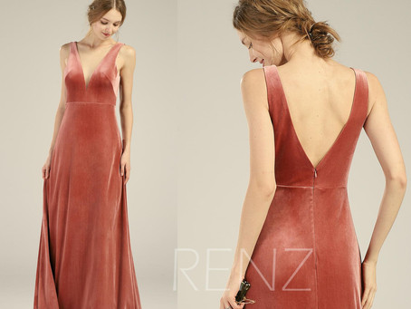 20 Burnt Orange Bridesmaid Dresses That Your Bridesmaids Will Swoon Over