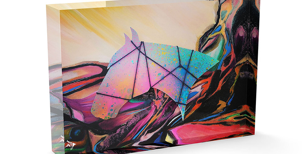 Winning Lines Acrylic Art