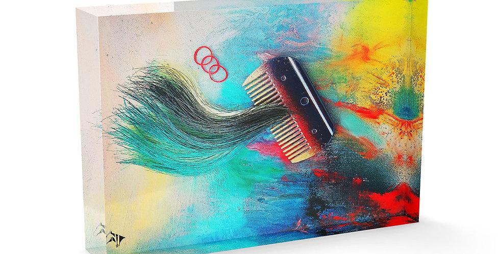 Swish Of Colour Acrylic Art